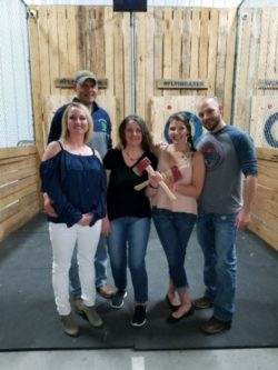 Flying Axes Staff Outing